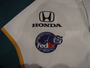 Paul Tracy Canadian Indy car driver signed pit crew shirt Windsor Region Ontario image 7