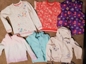 Girls aged 5-6 spring tops.