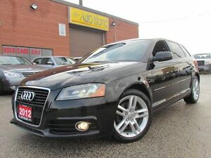 2012 Audi A3 2.0T Progressive,S Line,Leather,Pano Sunroof,o
