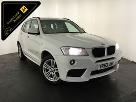 2013 63 BMW X3 XDRIVE20D M SPORT AUTO ESTATE 1 OWNER SERVICE HISTORY FINANCE PX