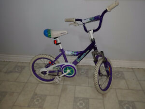 Girls Supercycle Kidz Purple BMX Tires may need air $20 Firm