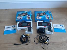 X2 Sega Mega Drive Portable Video Game Players
