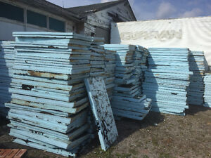 Blue Styrofoam Insulation