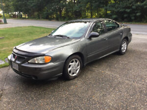 2003 Pontiac Grand Am 4 door sedan