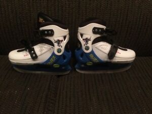 Size 13.5 - 2.5 adjustable toy story skates