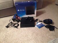 PS4 500GB + Games and Accessories