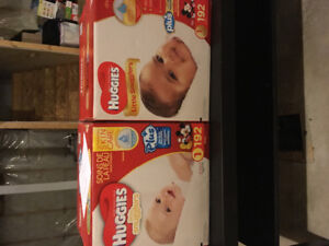 Size 1 Huggies Diapers