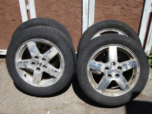 Tires and Rims, 205/55r16