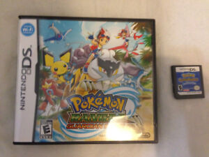 Pokemon Ranger Guardian Signs and Pokemon Blue Rescue Team DS