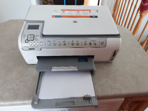 HP Photosmart C5180 All In One Printer Scanner Copier