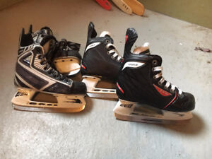 Patins Hockey Junior 12 et 12.5 et patins filles 13J