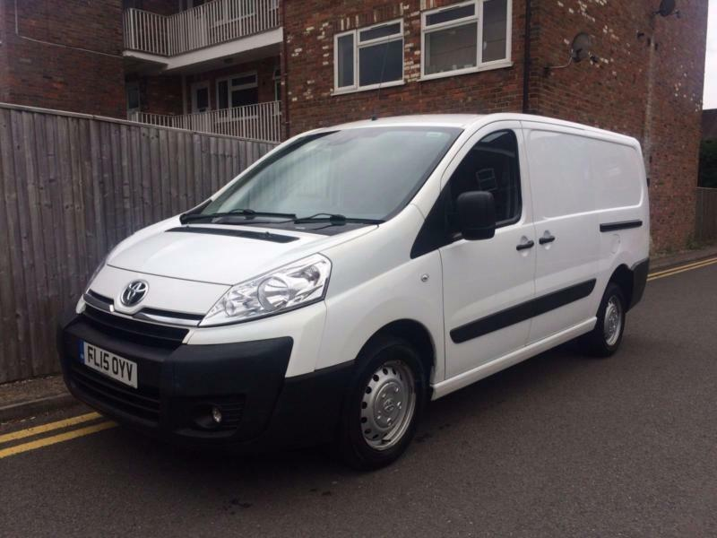 2015 Toyota Proace 2.0 HDi 128 bhp 1200 L2H1 ONLY 67K Van