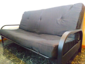 Futon Bed Only 2 weeks Old Very Clean fully Assembled BED 4 Sale