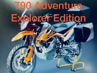 KTM 790 Adventure Explorer Edition- exclusive Tourer pack plus Save £1000's