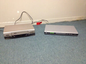 DVD and VCR