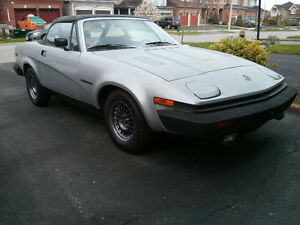 1982 TRIUMPH TR7 LAST YEAR OF PRODUCTION !!!