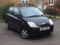 2007 Chevrolet Matiz S low mileage 1 litre