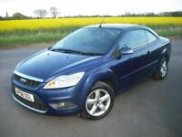FORD FOCUS 1.6 CC CONVERTIBLE *LOW MILEAGE* ONE OWNER *FULL HISTORY NEW CAMBELT*