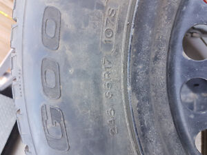 245/65r17 winter tiers off of 2013 Ford Explorer