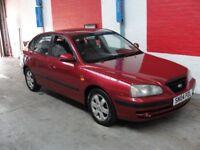 Hyundai Elantra 2.0TD CDX (red) 2004