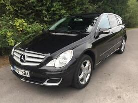 2007 MERCEDES R320 3.0 L 7G-TRONIC 4-MATIC AUTOMATIC 6 SEATER 4X4 TURBO DIESEL