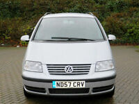 2007 57 VW SHARAN 1.9TDI PD ( 115P ) 7 SEATS+FULL SERVICE HISTORY