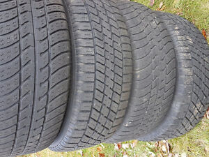 $100 - 2 winter tires and 2 all season tires with rims