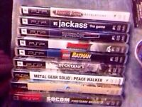 11 psp games for sale!