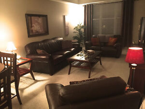 Beautifully * Furnished * Exec 2 bdrm condo in Ft. Saskatchewan