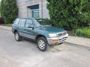 1997 Toyota RAV4 4x4***VENDU***