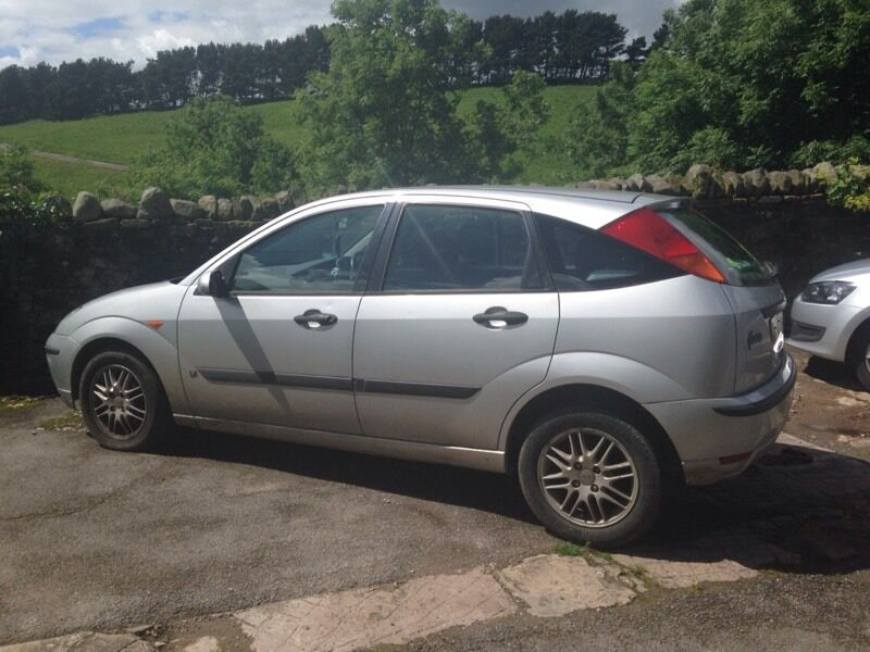 silver ford focus 2003 in macclesfield cheshire gumtree. Black Bedroom Furniture Sets. Home Design Ideas