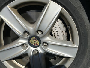 PORSCHE Cayenne - Original Porsche Tire Kit with Winter Tires
