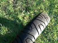 130/70/17 motorcycle rear tyre new