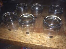 Set of 6 rocker glasses