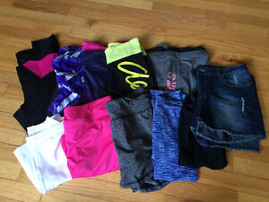large lot of athletic pants