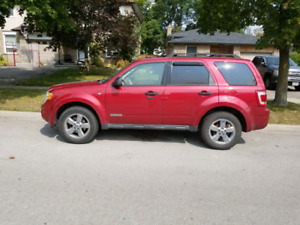 2008 FORD ESCAPE  (Red)