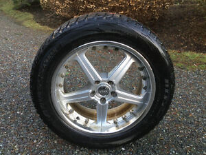 VOXX rims with winter tires