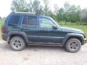 2005 Jeep Liberty (transmission is done).