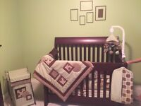 Neutral Baby Nursery Bedding