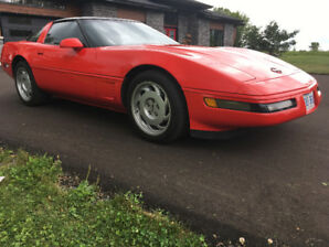 C4 Corvette 1990 targa top reduce 9500.00 $