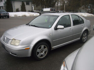2001 Volkswagen Jetta base Sedan