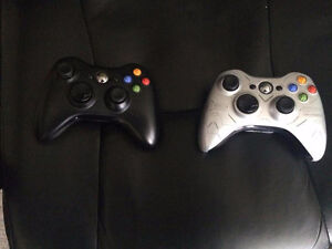 2 wireless xbox 360  controller for sale 25$ each.