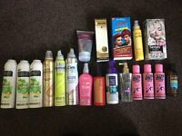 19 ITEMS for £6.50 Hair Products Hair Dyes Bundle - includes candy floss pink/purple/red/blonde