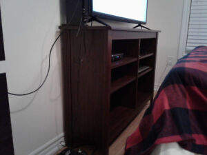 Tv Stand and pictures for sale