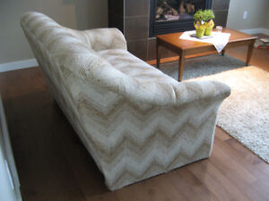 Caramel/Vanilla SOFA - no smoking, no pets, clean!!!