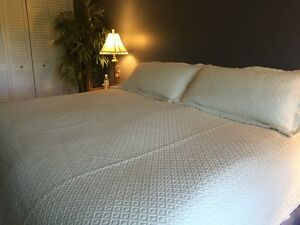 King Size Bedspread and 2 pillow shams