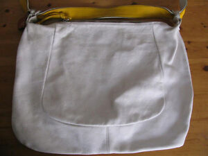 Sofia C all leather XL hobo bag, made in Italy