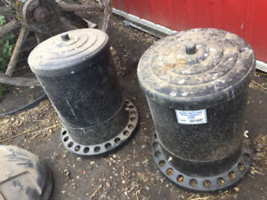 Chicken feeders various kinds