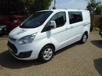 2016 Ford Transit Custom 2.2TDCi KOMBI 6 Seat ( 125PS ) Double Cab-in-Van NO VAT