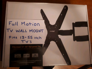 Brand new full motion tv wall mounts